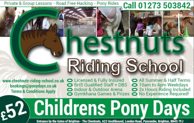 British Summer Time Supplement Chestnuts Riding School