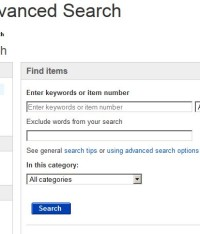 Hacking Ebay Search – Remove Words but Search ALL