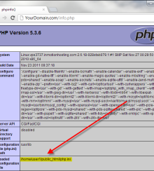 How to change php.ini Options on all PHP Versions of CloudLinux cPanel